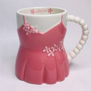 NEW TAG Pink Dressed Coffee Mug